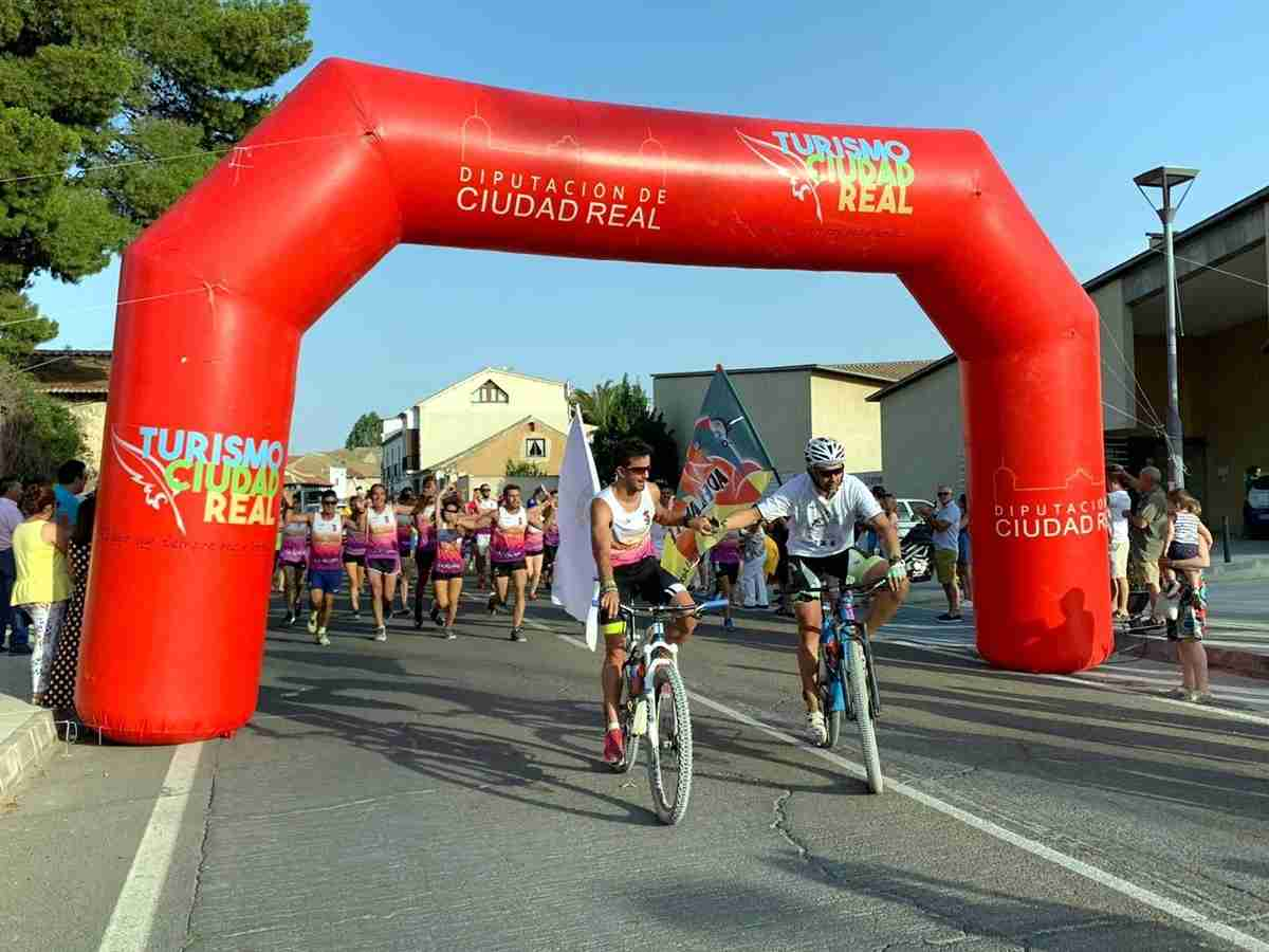 El gran reto solidario deportivo a favor de la ELA entre Villarta de San Juan y Villarta de Cuenca fue un éxito 2