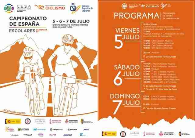 21 ciclistas integran la selección de Castilla-La Mancha para el Campeonato de España Escolar 2019 1