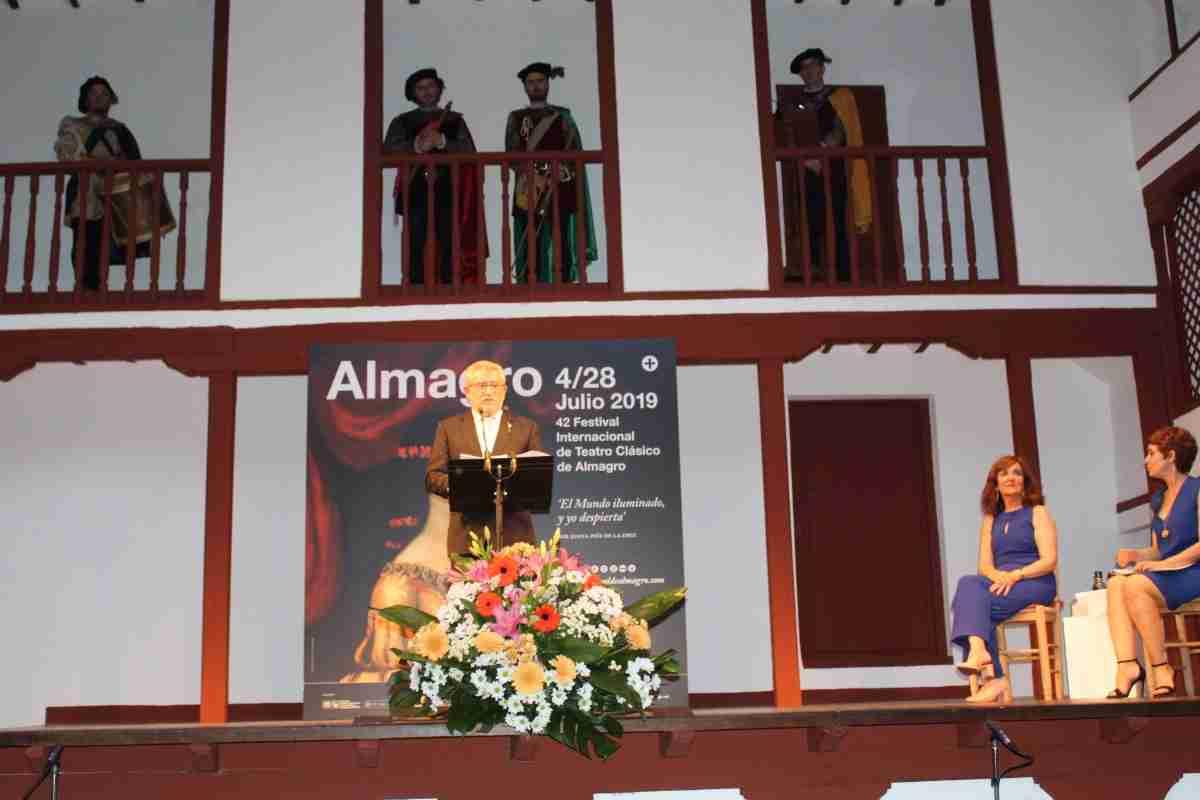 Ángel Felpeto, satisfecho y agradecido de que el Festival de Teatro Clásico de Almagro pueda recibir este año el 'Premio Cultura Inclusiva' 1
