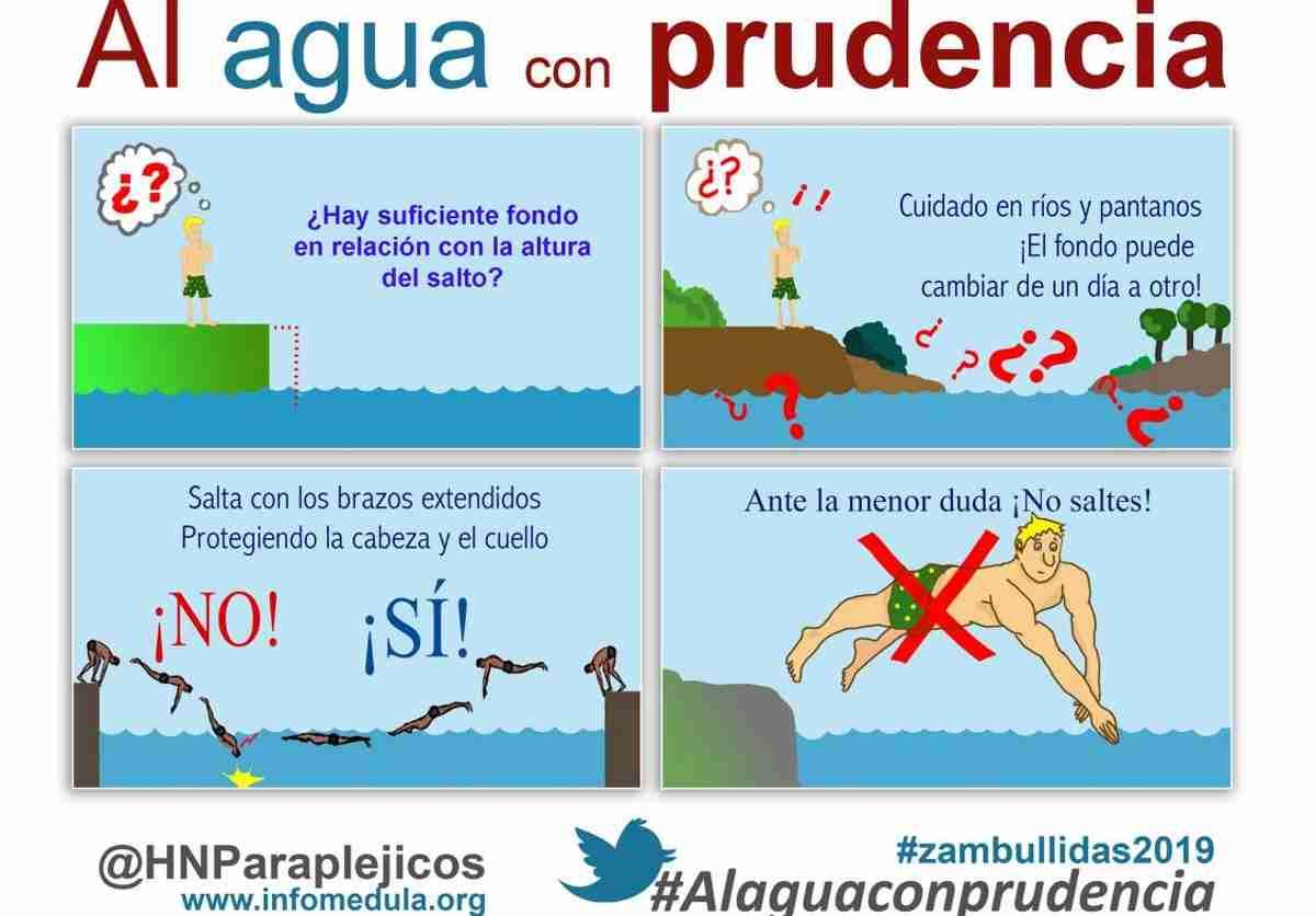 """Hospital Nacional de Parapléjicos pone en marcha la campaña con el lema """"Al agua con prudencia"""" 1"""