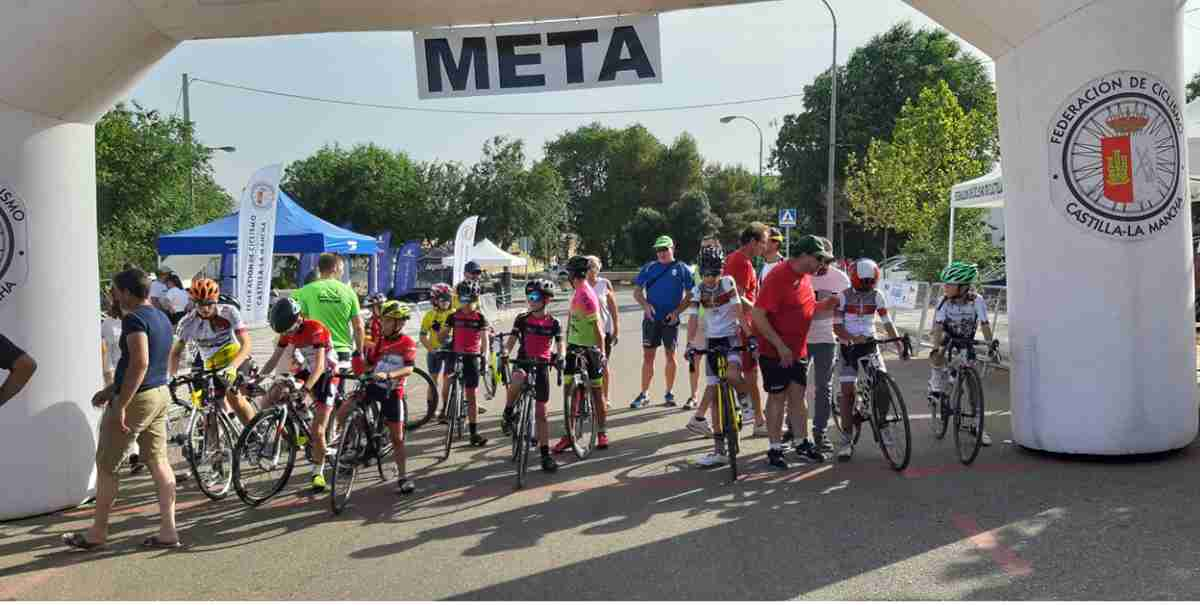 Campeonato de Castilla-La Mancha de Ciclismo Escolar en Los Yébenes 1
