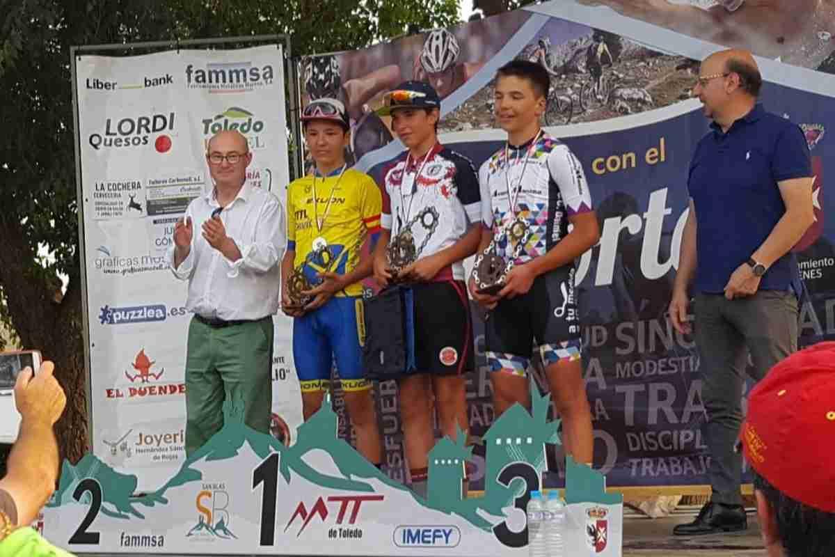 Campeonato de Castilla-La Mancha de Ciclismo Escolar en Los Yébenes 2