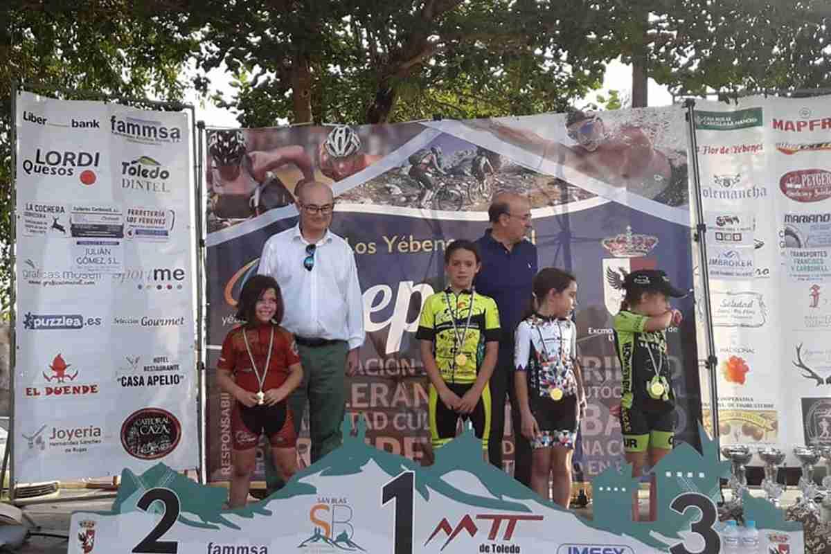 Campeonato de Castilla-La Mancha de Ciclismo Escolar en Los Yébenes 3