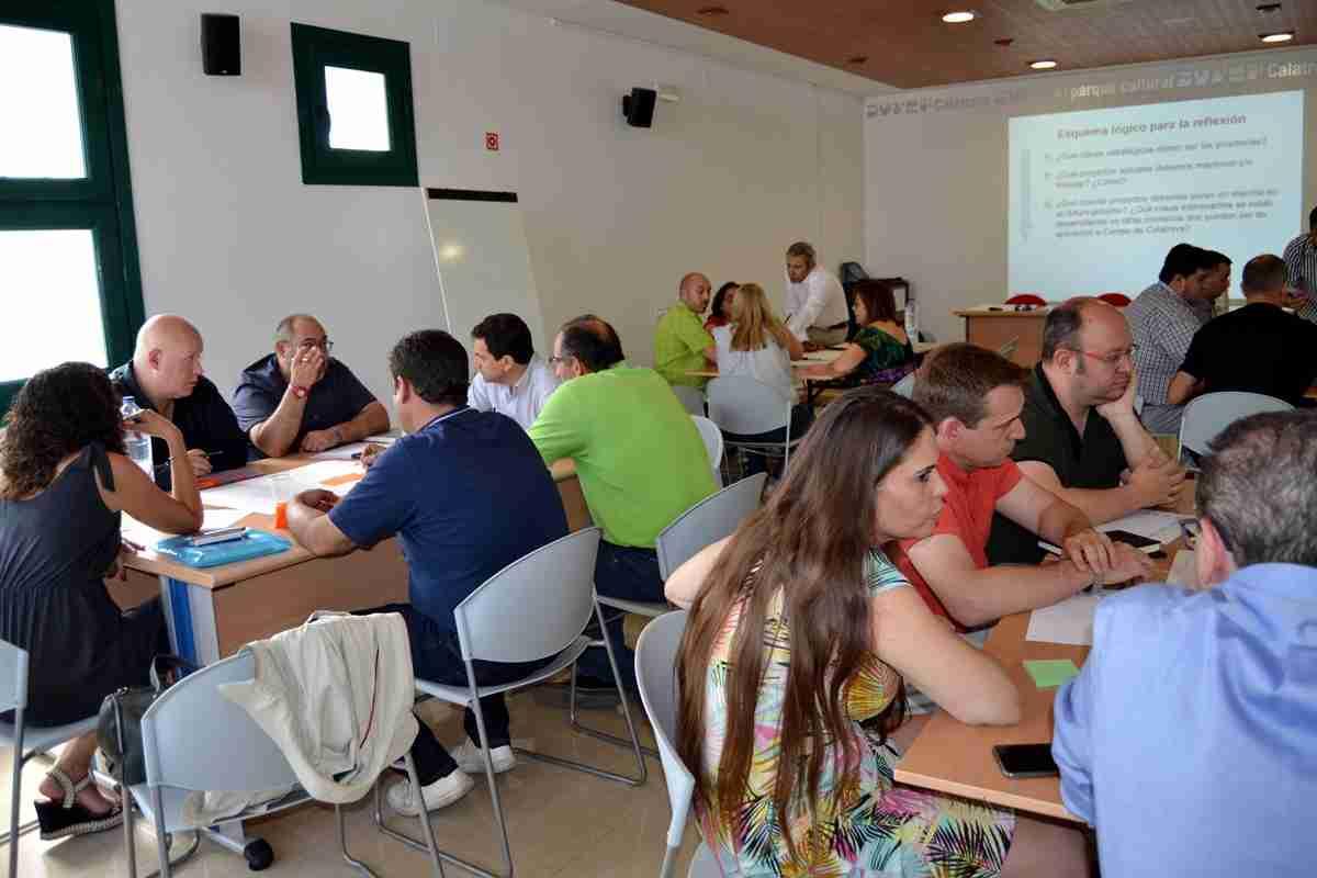 El Grupo Campo de Calatrava organiza un world café para Evaluación Intermedia de la Gobernanza de su Asociación 2