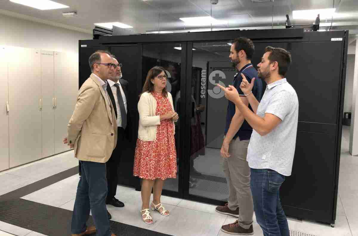 Se ha incrementado la capacidad de alojamiento del Centro de Procesamiento de Datos del SESCAM 1