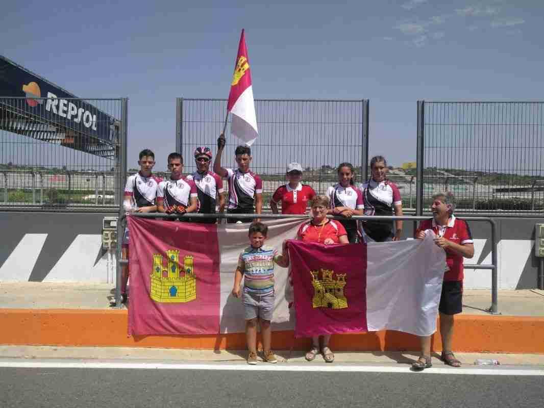 La selección de Castilla-La Mancha cerró su participación en los Campeonatos de España Escolares 2