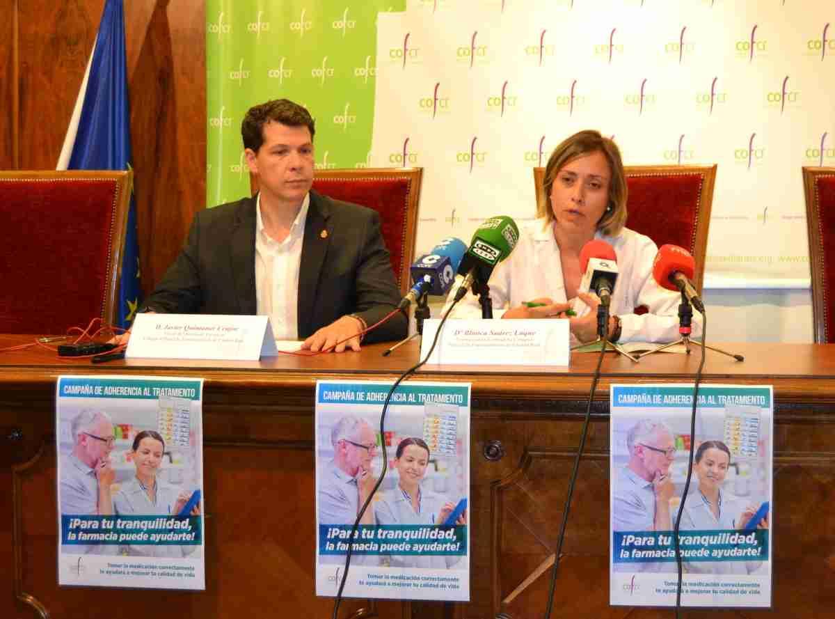 """Los farmacéuticos de Ciudad Real llevan a cabo la campaña de """"Adherencia al Tratamiento"""" para asesorar a pacientes 1"""