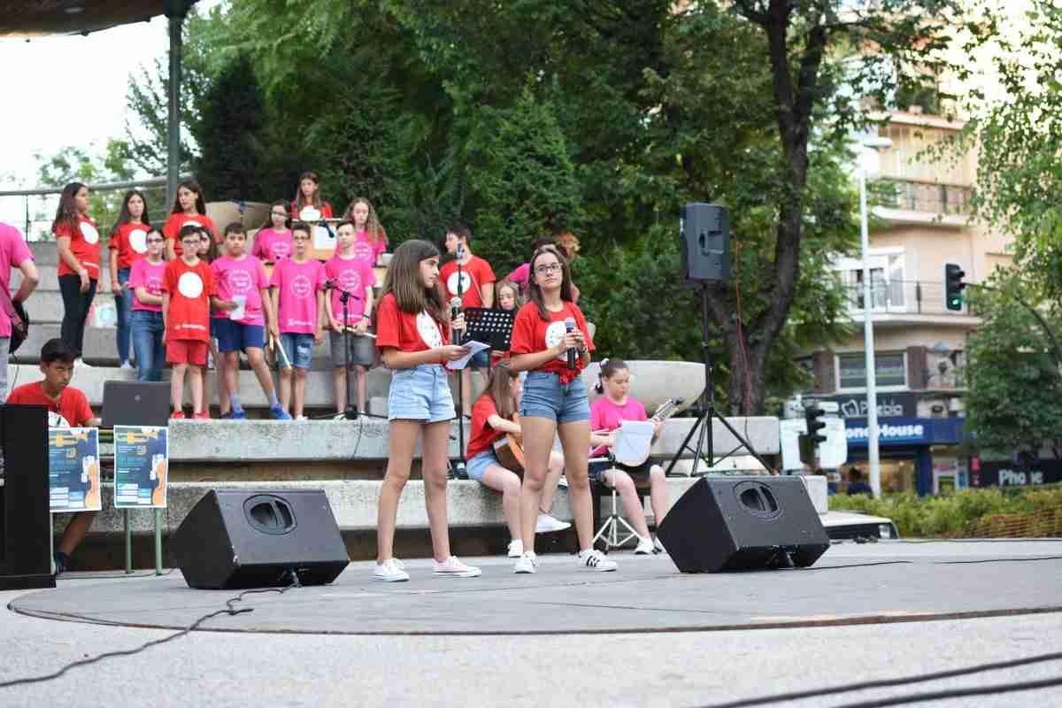 Concierto de fin de Curso de San José Band en el Paseo San Gregorio 2