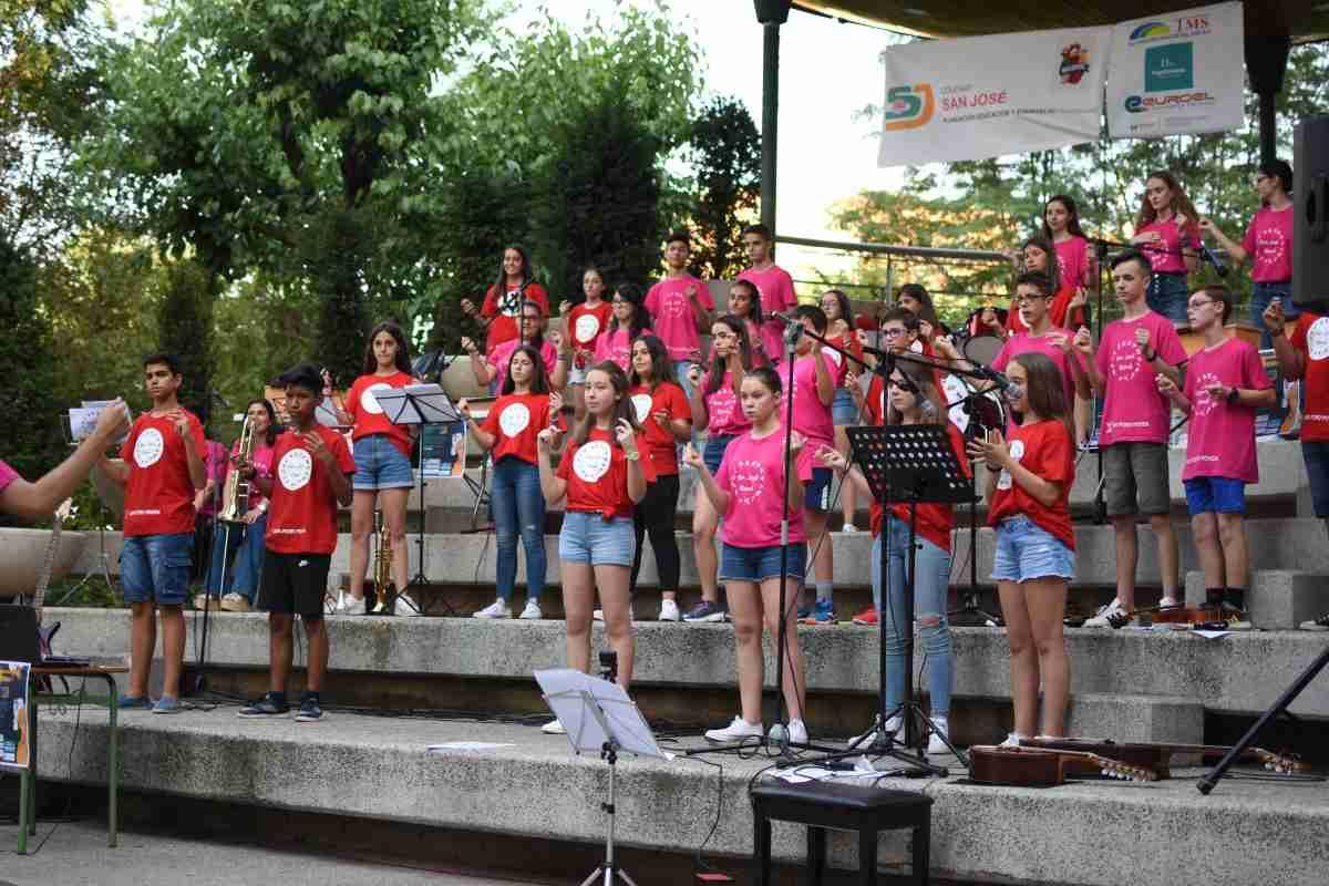 Concierto de fin de Curso de San José Band en el Paseo San Gregorio 3