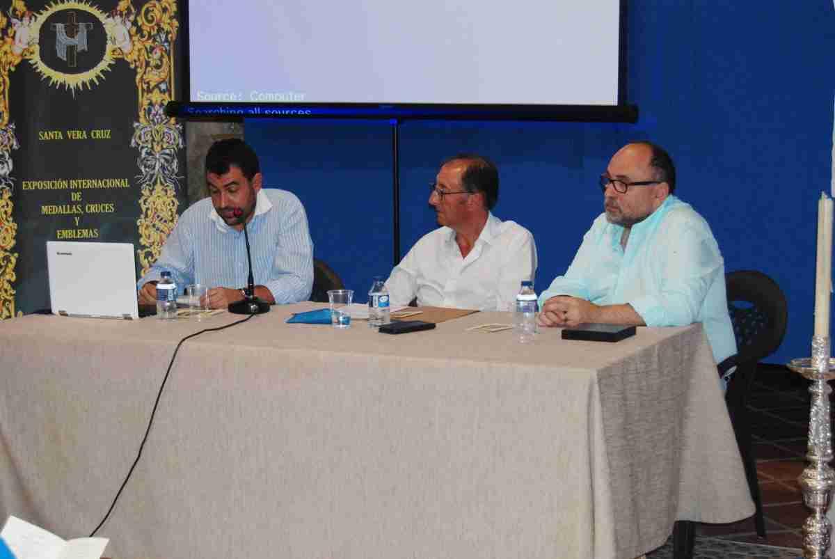 Conferencia sobre los misterios del origen de la devoción a la Vera Cruz en el Museo Etnográfico de Villarrubia 1