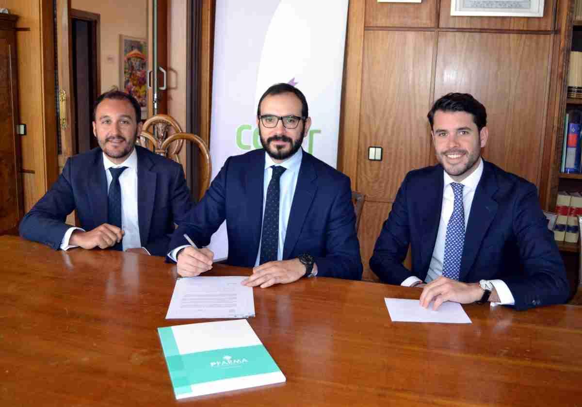 Colegio de Farmacéuticos de Ciudad Real firma convenio con Patrimonio Farmacéutico SL 1