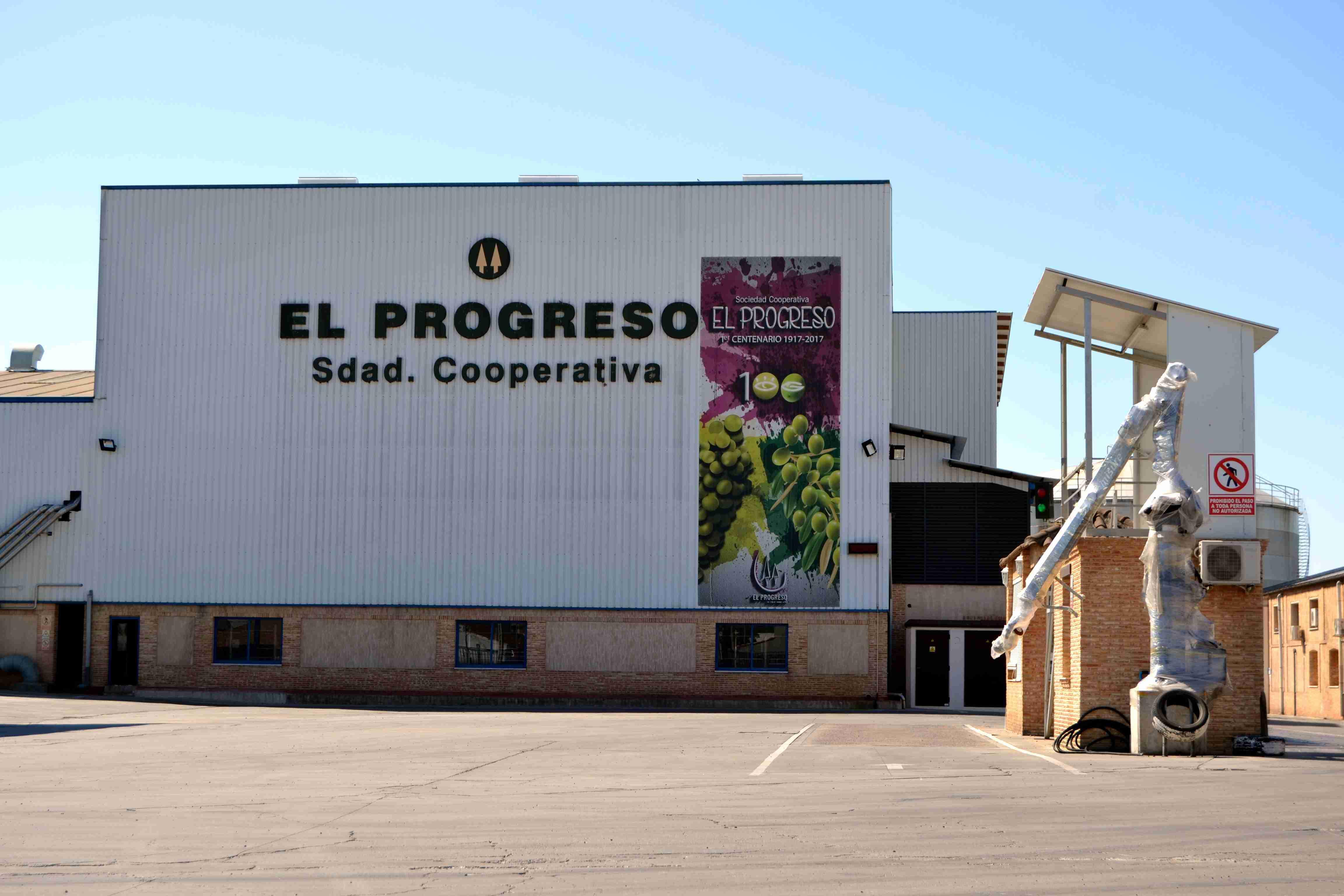 Por la sequía se prevé un adelanto de la vendimia y merma de la producción ha informado la Cooperativa El Progreso de Villarrubia de los Ojos 1