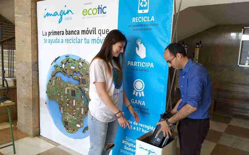 La campaña 'Digitalización Sostenible' recogió 1 tonelada de residuos eléctricos y electrónicos en apenas 10 dias 2