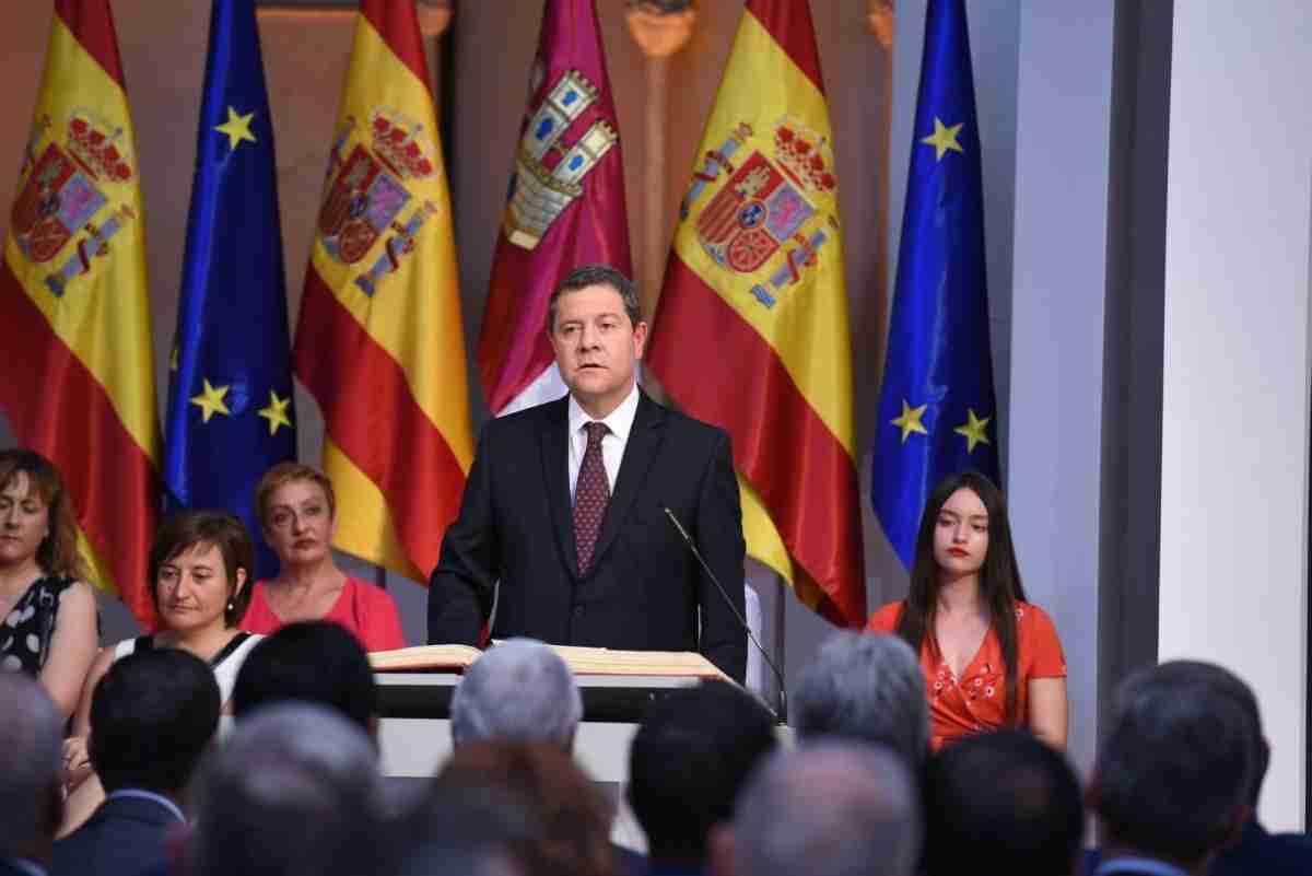 El Consejo de Gobierno de Castilla-La Mancha tomó posesión ayer en el Palacio de Fuensalida 1