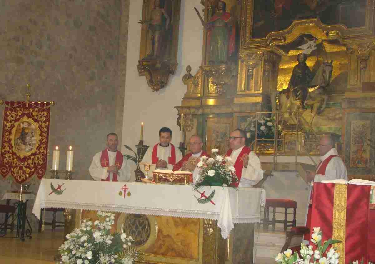 Quintanar de la Orden honra a Santiago Apóstol titular de su Parroquia y patrón de España 1