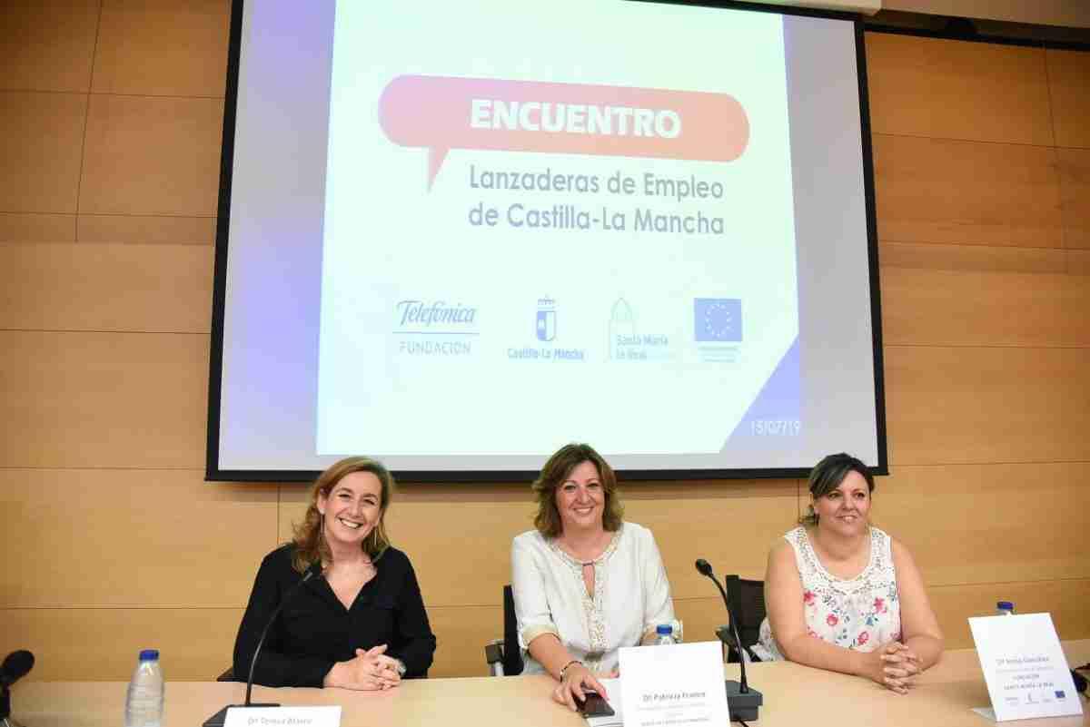Encuentro del programa Lanzaderas de Empleo del Gobierno de Castilla-La Mancha se celebró hoy 1
