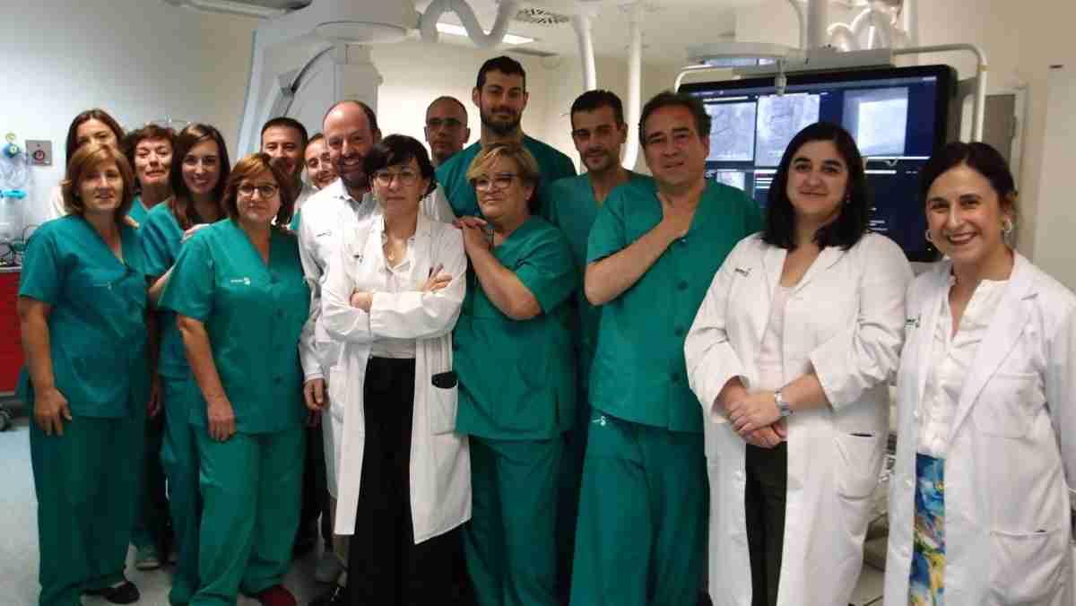 La sala de Hemodinámica del Hospital General Universitario de Ciudad Real a pleno rendimiento luego de renovar sus instalaciones 1