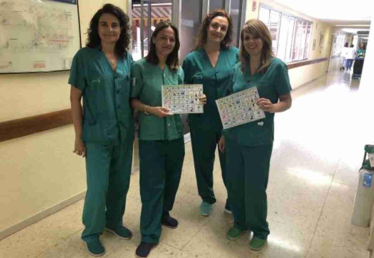 Servicio de Medicina Intensiva del Hospital de Toledo utiliza pictogramas para pacientes con dificultad de comunicación 1