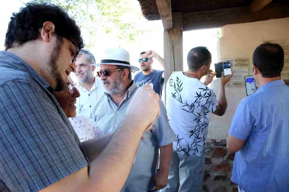Poblete inauguró la ruta virtual de la Batalla de Alarcos, recreación de realidad aumentada de un hecho histórico 3