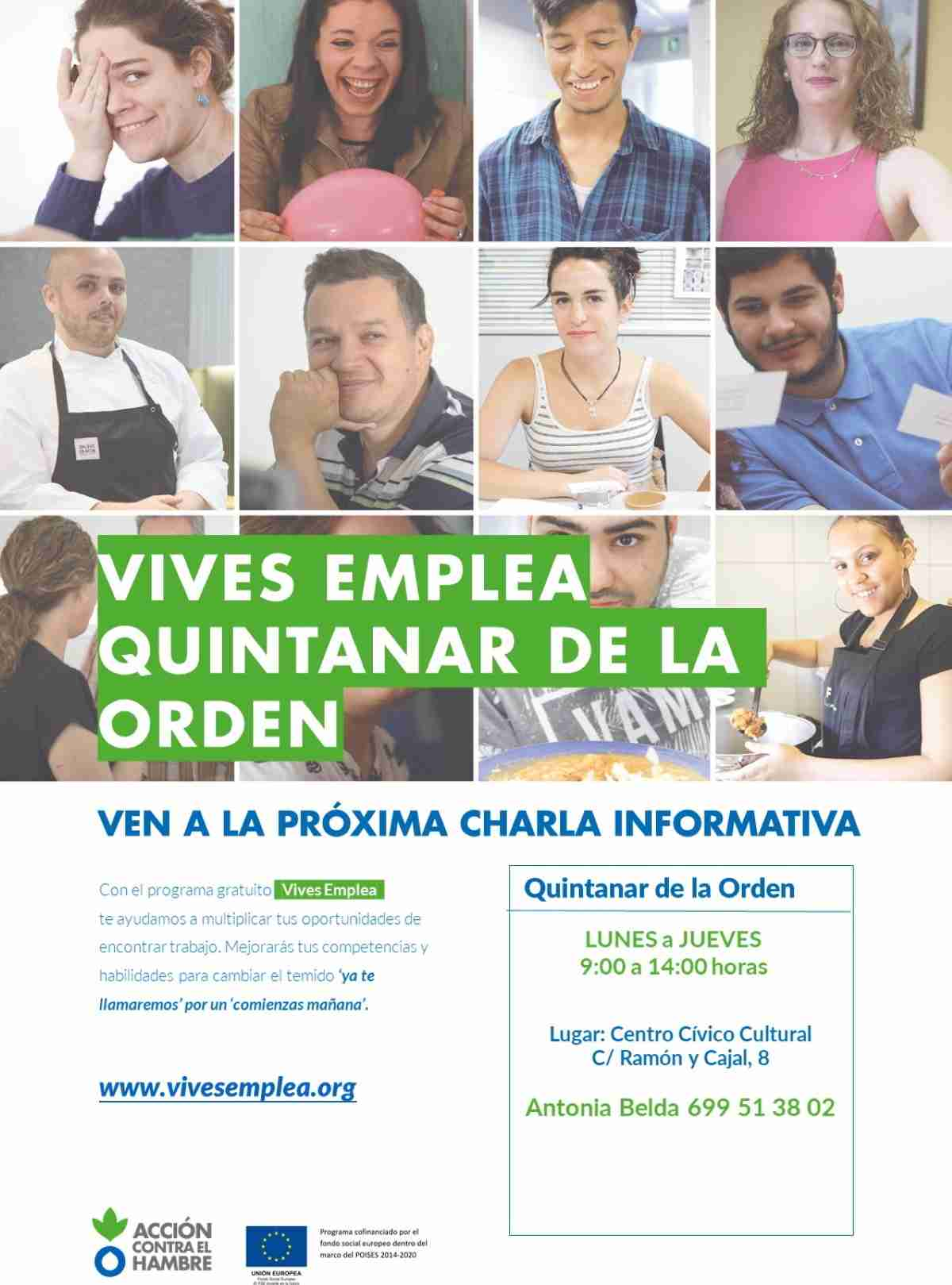 Quintanar de la Orden pone en marcha segunda edición del Programa Vives Emplea 1