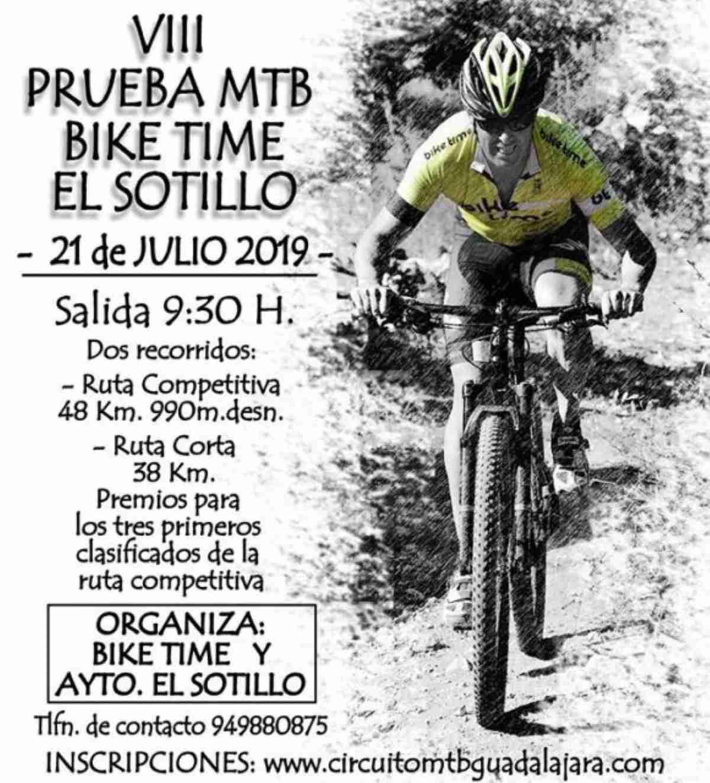 El Sotillo Guadalajara albergará la VIII Prueba MTB Bike Time-El Sotillo 1