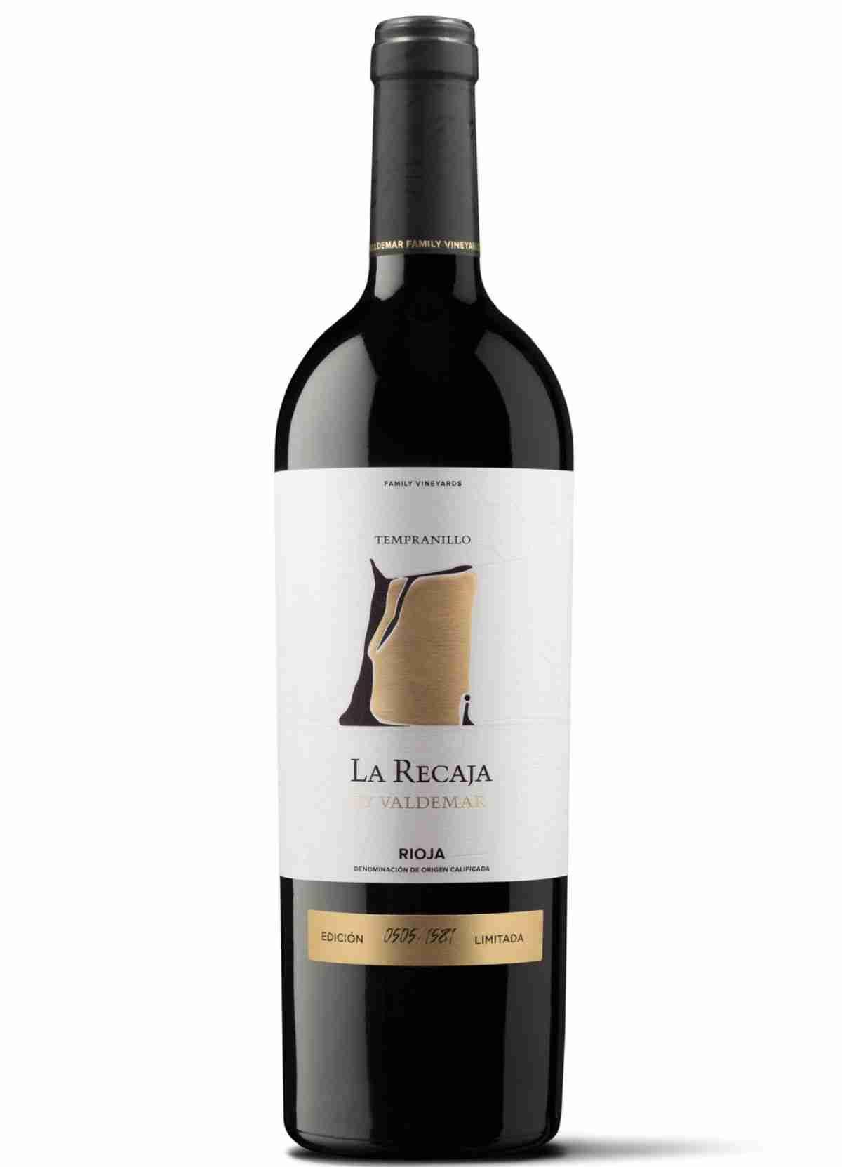 Bodegas Valdemar presenta La Recaja una selección exclusiva de 1.581 botellas de su último vino de parcela 1