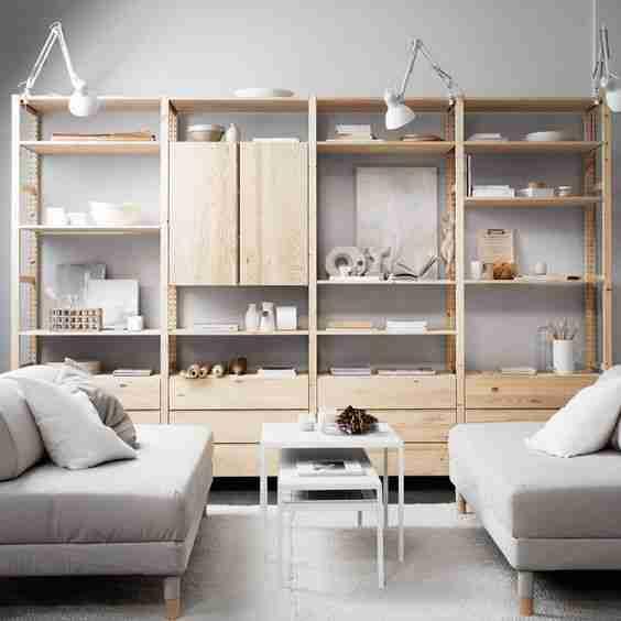estantería IVAR de Ikea VIII