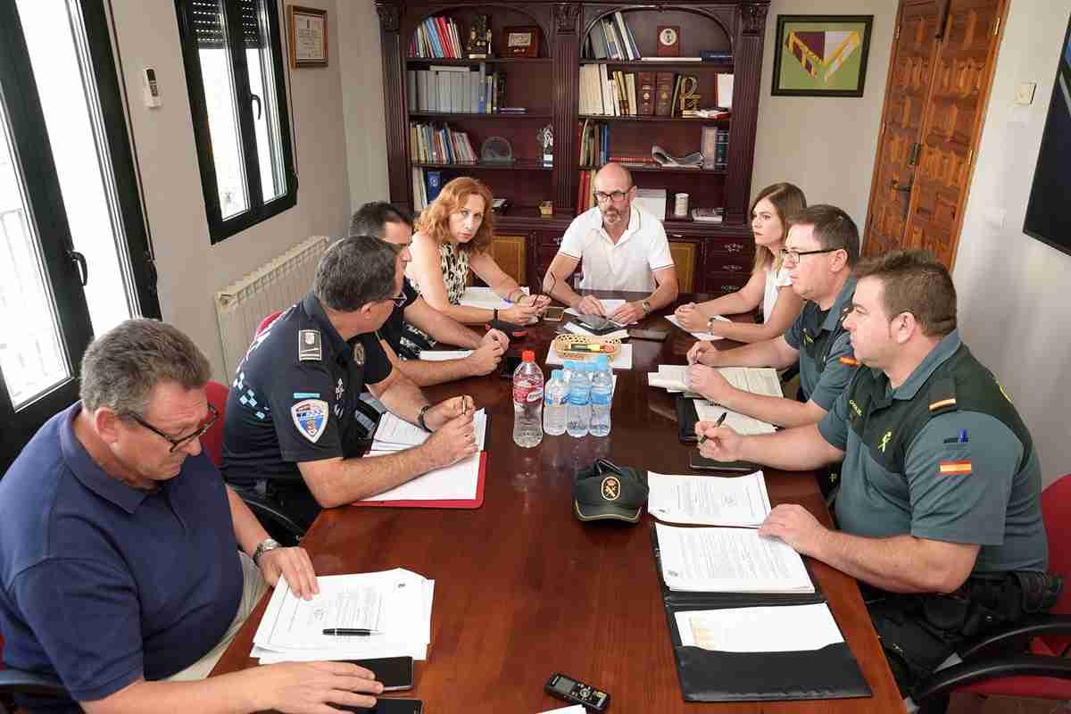 La subdelegada y el alcalde de Ciudad Real copresiden la Junta de Seguridad de la localidad 1