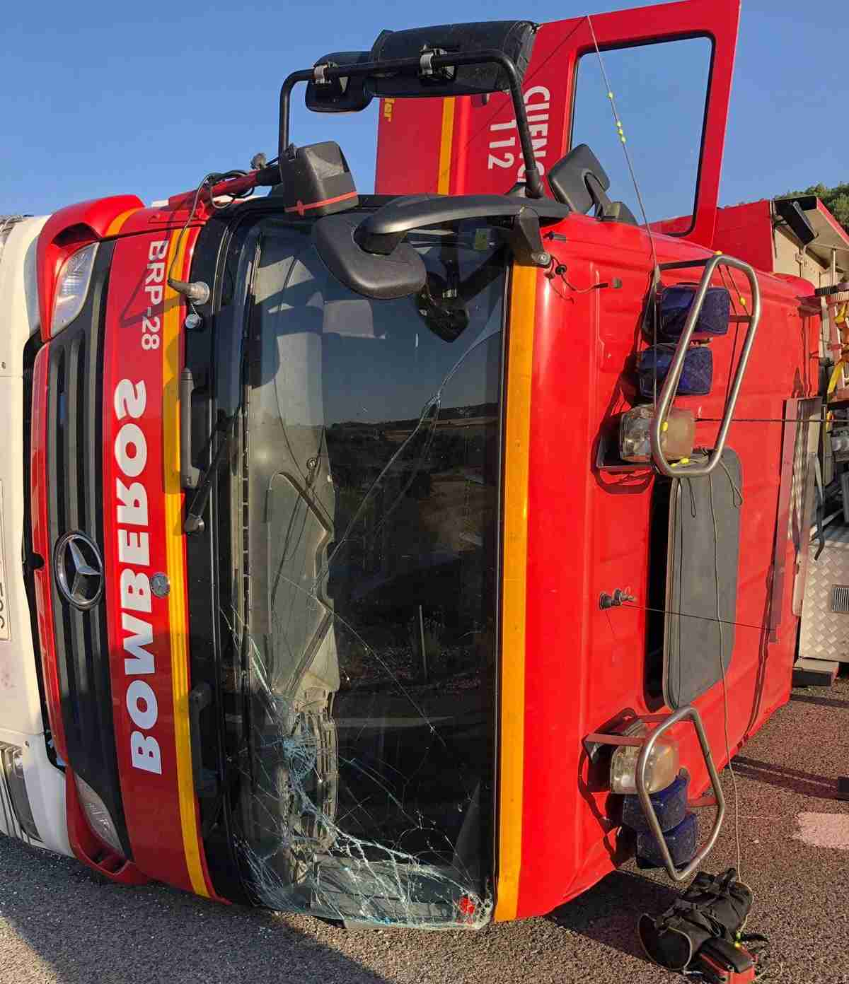 El CCOO-FSC de Cuenca ha expresado su apoyo y ánimo a los cuatro bomberos del SPPEI accidentados el pasado domingo 1