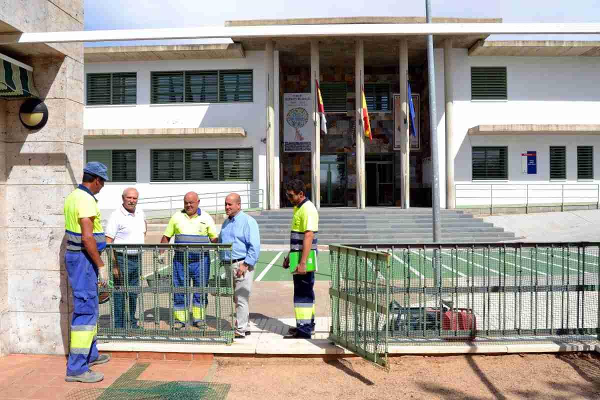 Obras en el Campo de Fútbol de Villarrubia de los Ojos para adecuarlo a la normativa de 2ª División B concluirán el 20 de agosto 1
