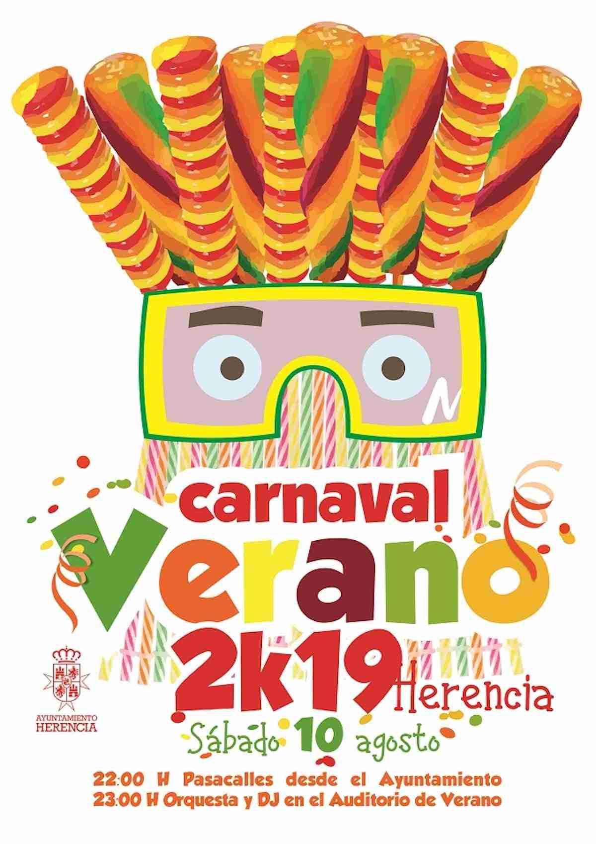El auténtico Carnaval de Verano ultima sus preparativos en Herencia 3