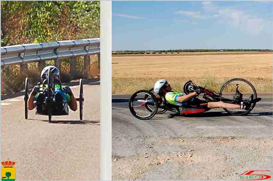 Contrarreloj Individual del Club Sport Tomelloso con homenaje al ciclismo adaptado 1
