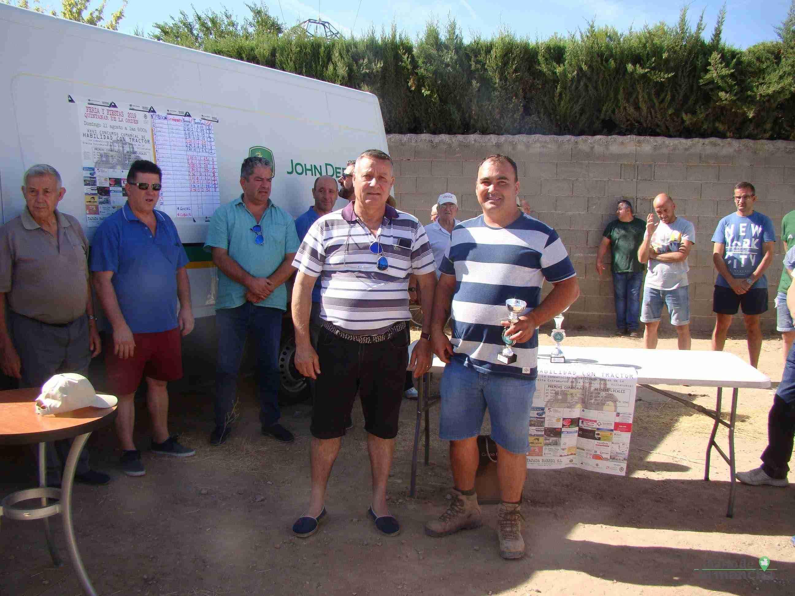 Quintanar celebra su XXVI Concurso Comarcal de Habilidad con Tractor con gran participación 10