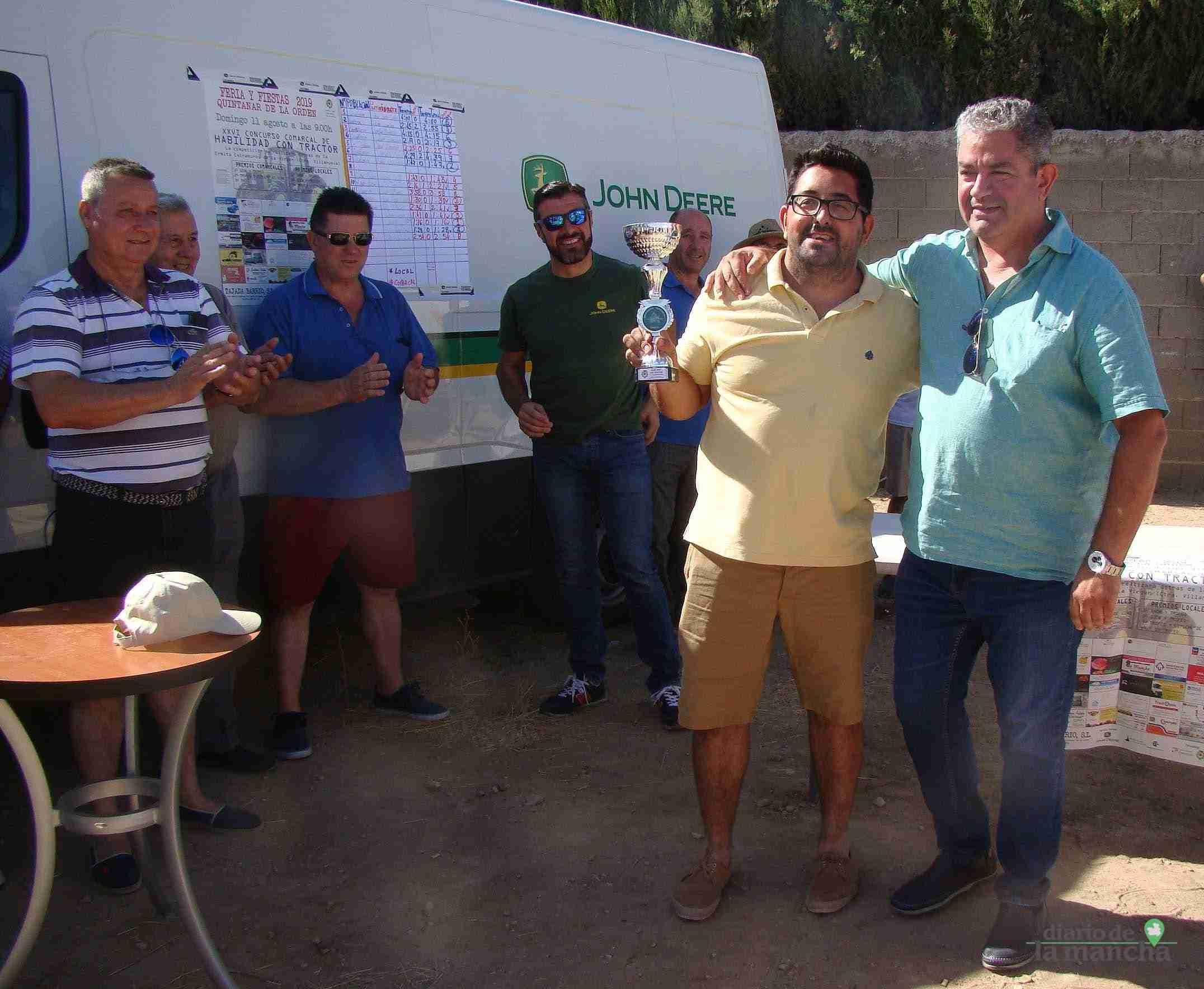 Quintanar celebra su XXVI Concurso Comarcal de Habilidad con Tractor con gran participación 14