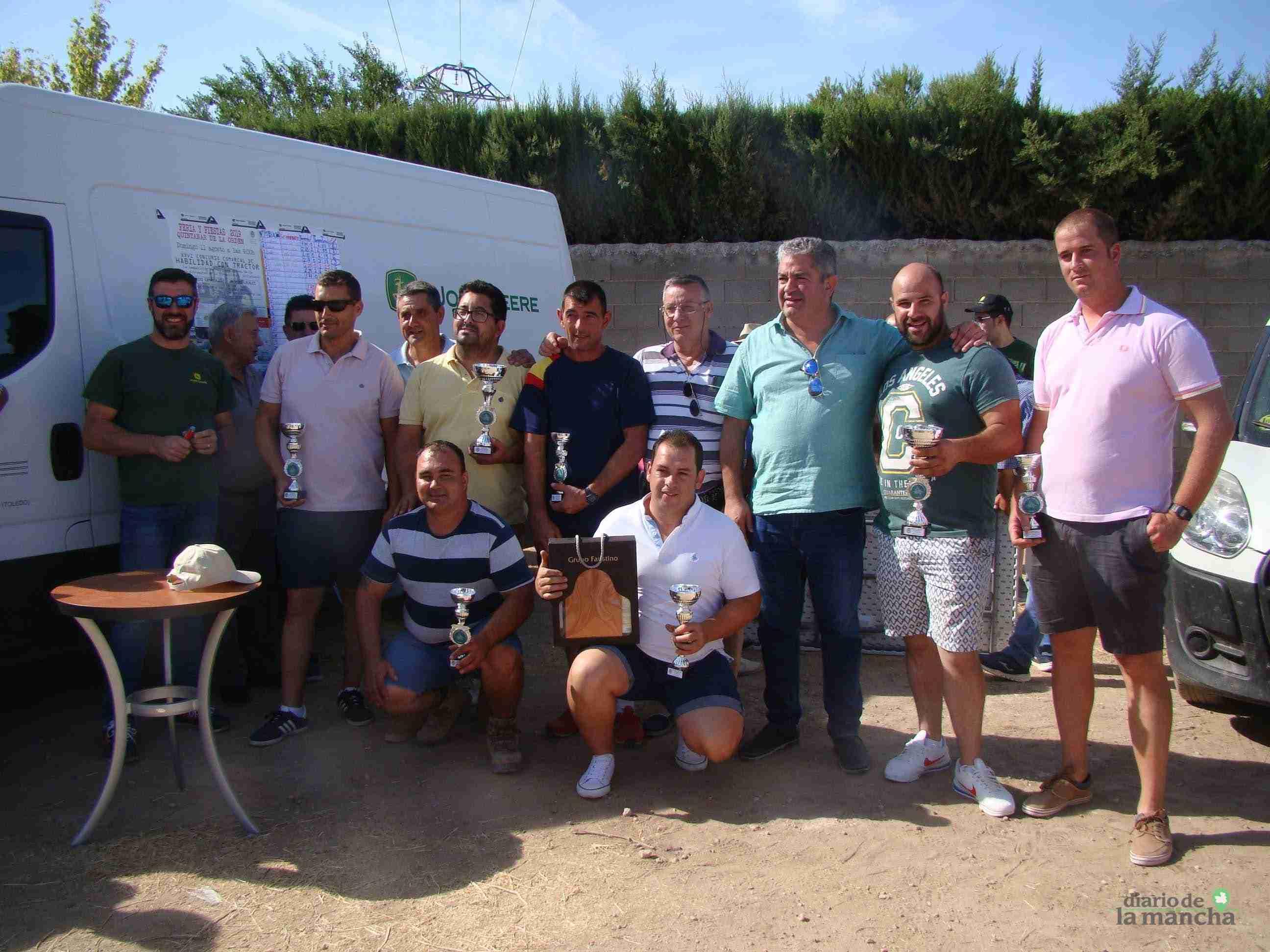 Quintanar celebra su XXVI Concurso Comarcal de Habilidad con Tractor con gran participación 15