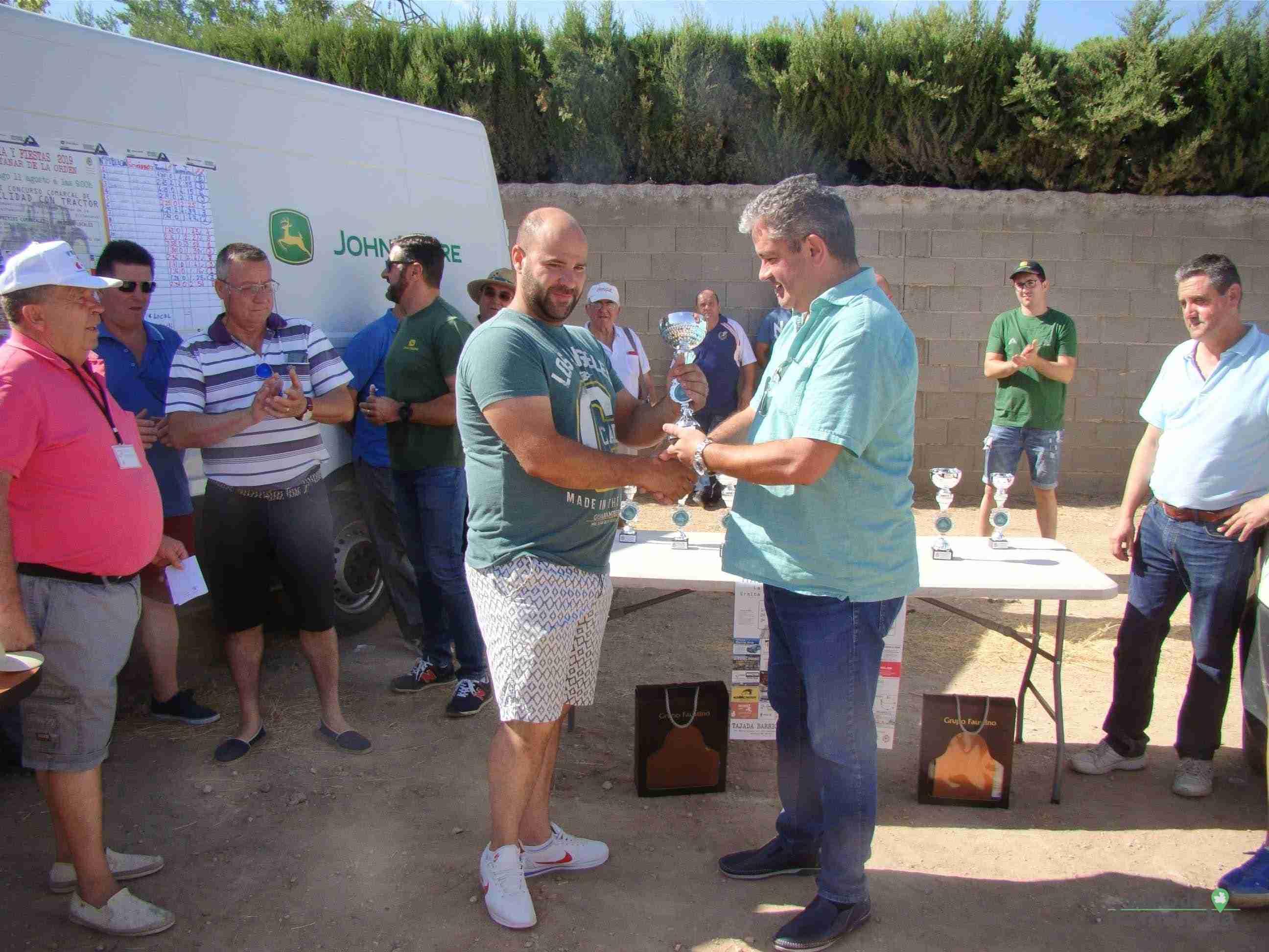Quintanar celebra su XXVI Concurso Comarcal de Habilidad con Tractor con gran participación 7