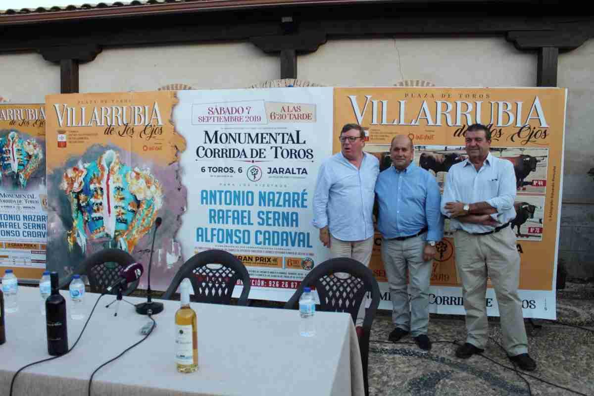 El 7 de septiembre se celebrará una corrida en la Feria y Fiestas 2019 de Villarrubia de los Ojos 2