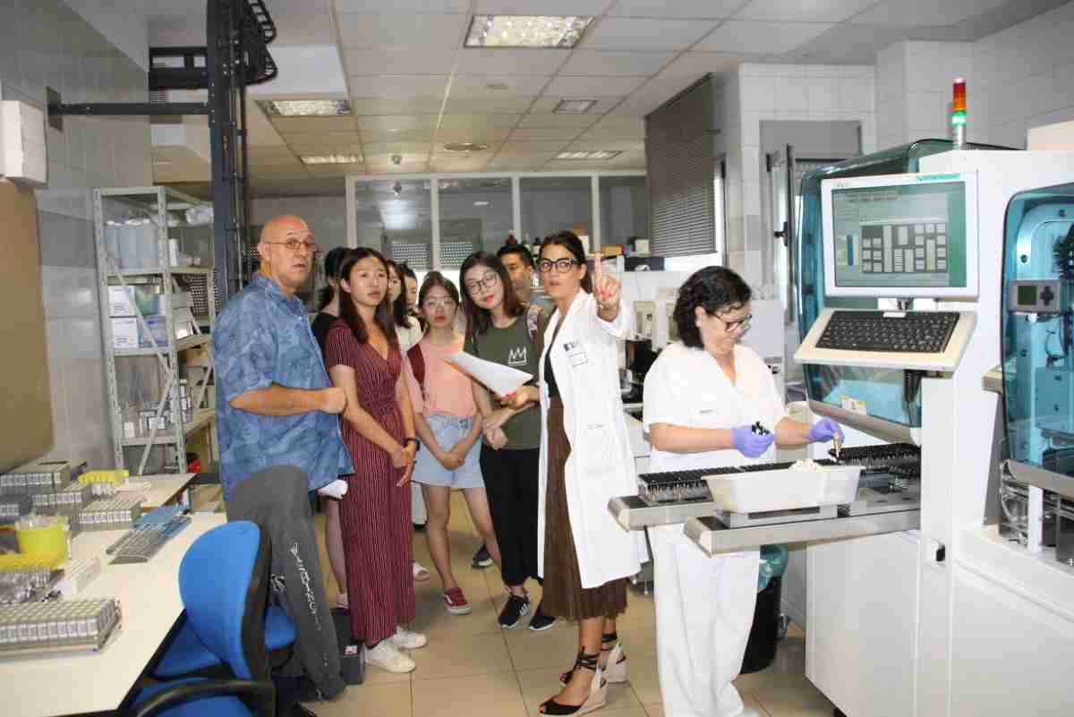 Estudiantes de Medicina de la Wenzhou Medical University de China han visitado Castilla-La Mancha y Cuenca para conocer el sistema sanitario español 1
