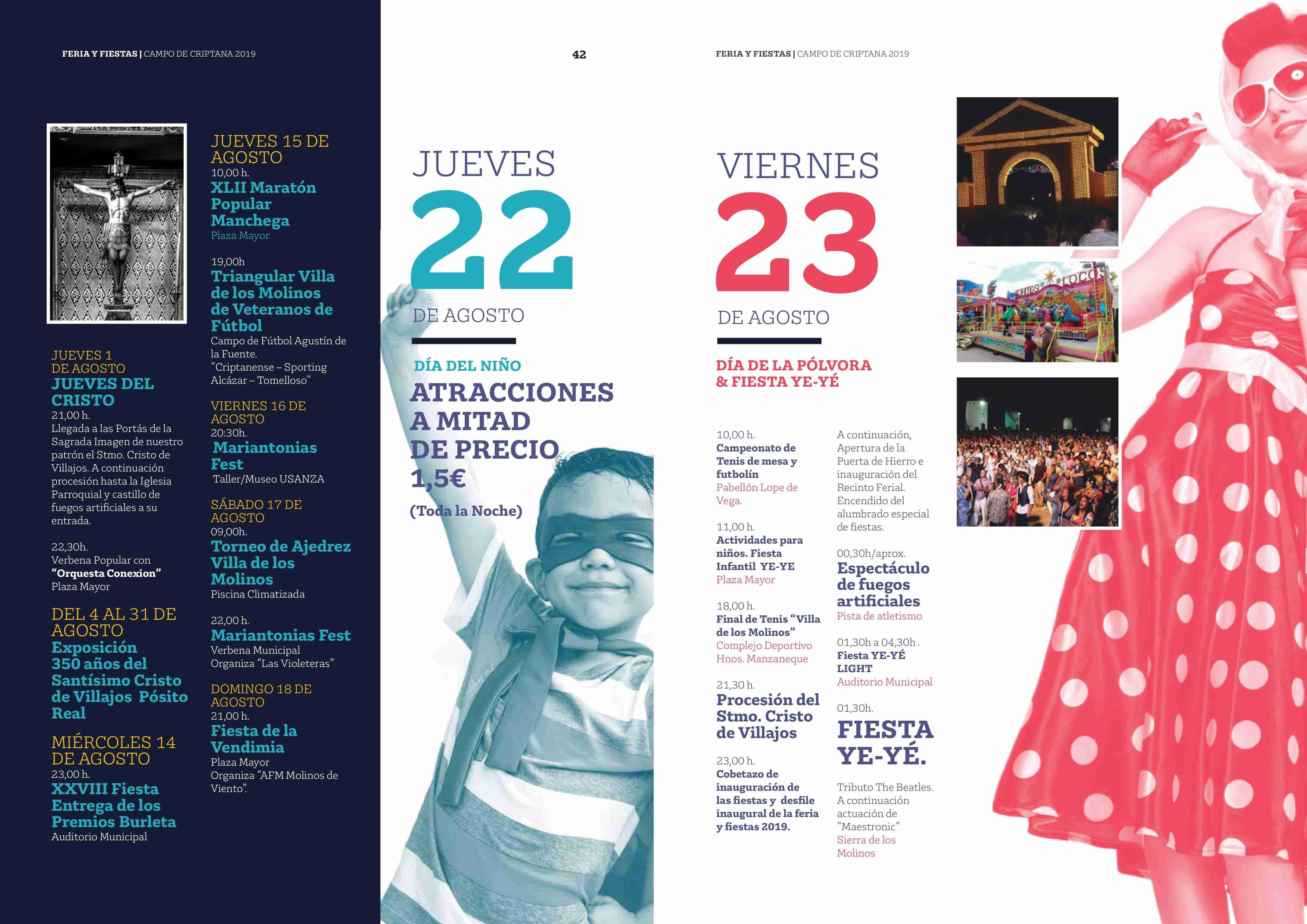 Campo de Criptana se prepara para una Feria y Fiestas repletas de novedades 124