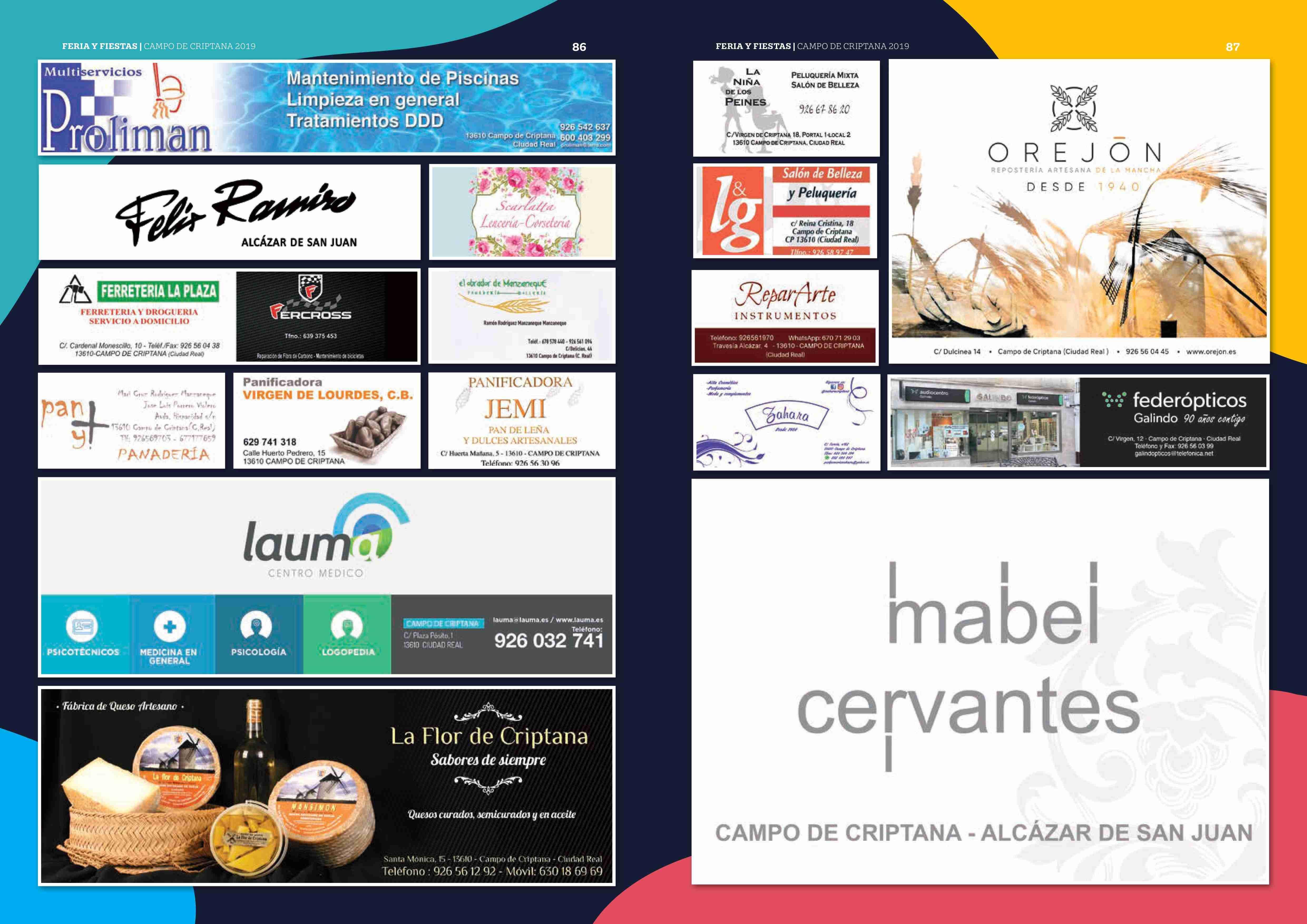 Campo de Criptana se prepara para una Feria y Fiestas repletas de novedades 146