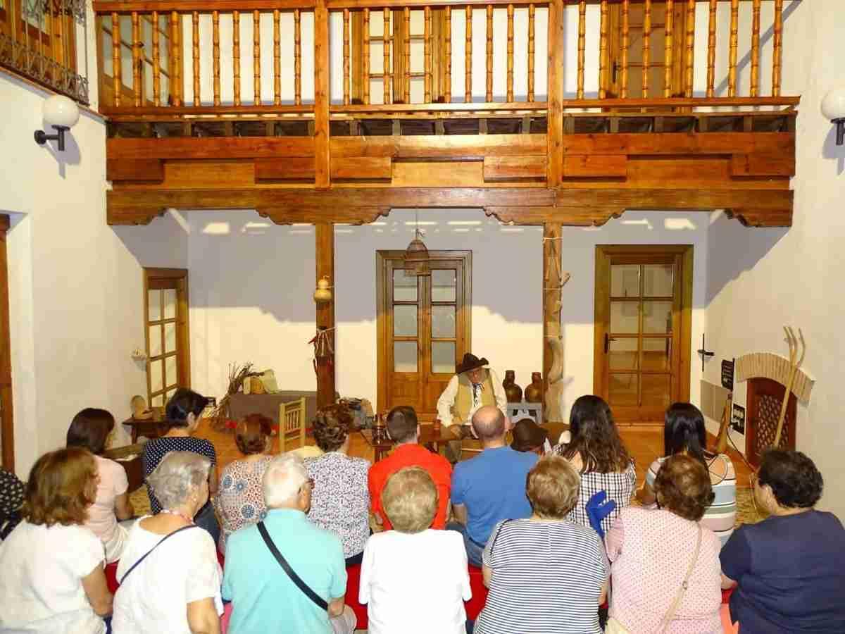 Homenaje al teatro español 'Entre escenas' en el Festival en Off de Torralba de Calatrava 1