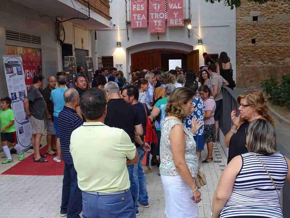 Homenaje al teatro español 'Entre escenas' en el Festival en Off de Torralba de Calatrava 2