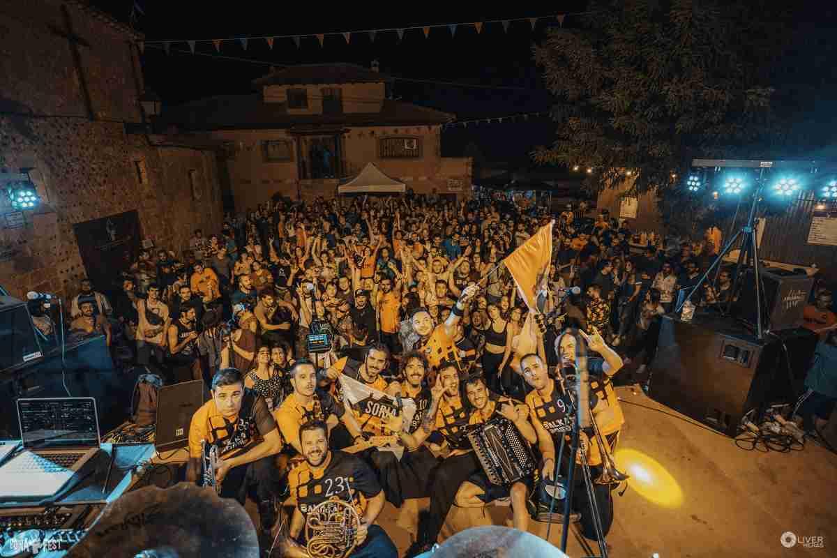 La 5ª edición del Boina Fest el 1er festival contra la despoblación soriana y de la Serranía Celtibérica se celebró en Arenillas (Soria) 1