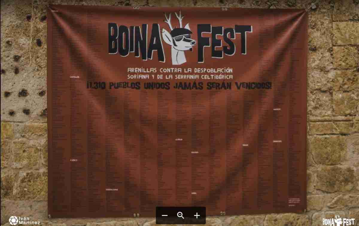 La 5ª edición del Boina Fest el 1er festival contra la despoblación soriana y de la Serranía Celtibérica se celebró en Arenillas (Soria) 2