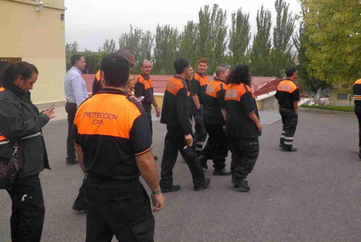 Policías y voluntarios de Protección Civil reciben formación contra la violencia de género en la Escuela de Protección Ciudadana 1