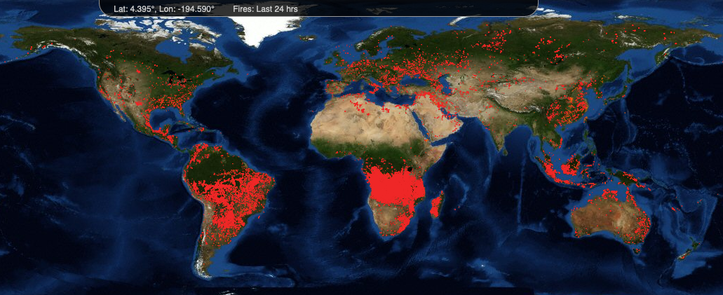 Realmente la Amazonia lleva ardiendo más de 15 años 2