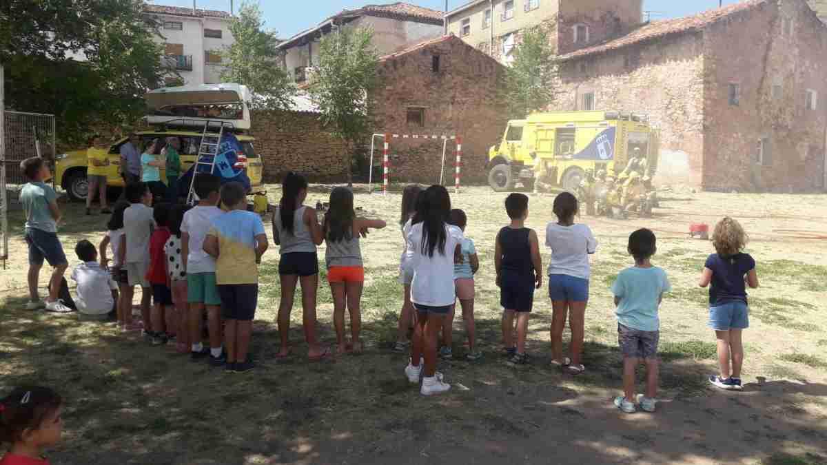 Una jornada de sensibilización medioambiental fue organizada por Geacam para los alumnos de Checa Guadalajara 1