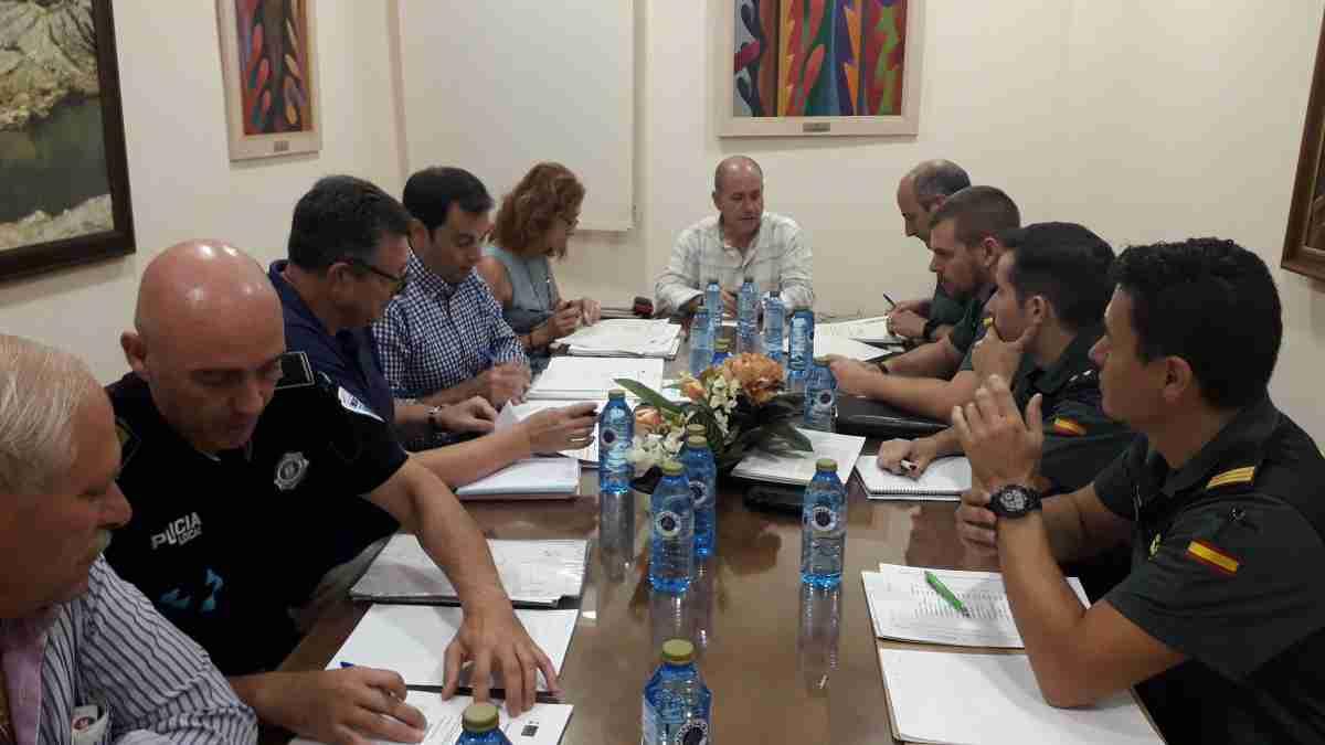 Una Junta de Seguridad celebró el  Ayuntamiento de Villarrubia de los Ojos 1