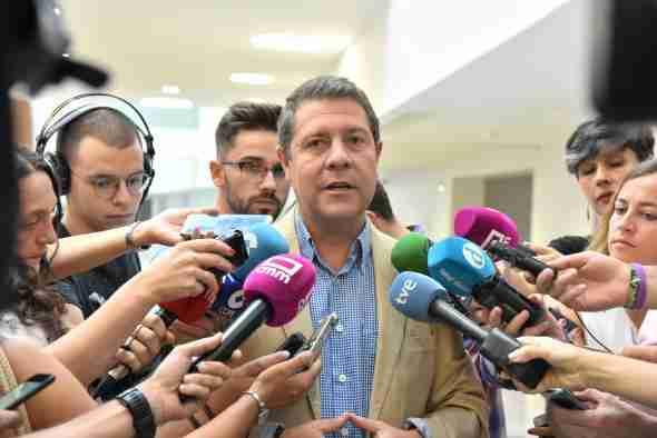 El presidente de Castilla-La Mancha anunció 'una catarata' de inversiones y una estrategia de empleo público desde octubre 3