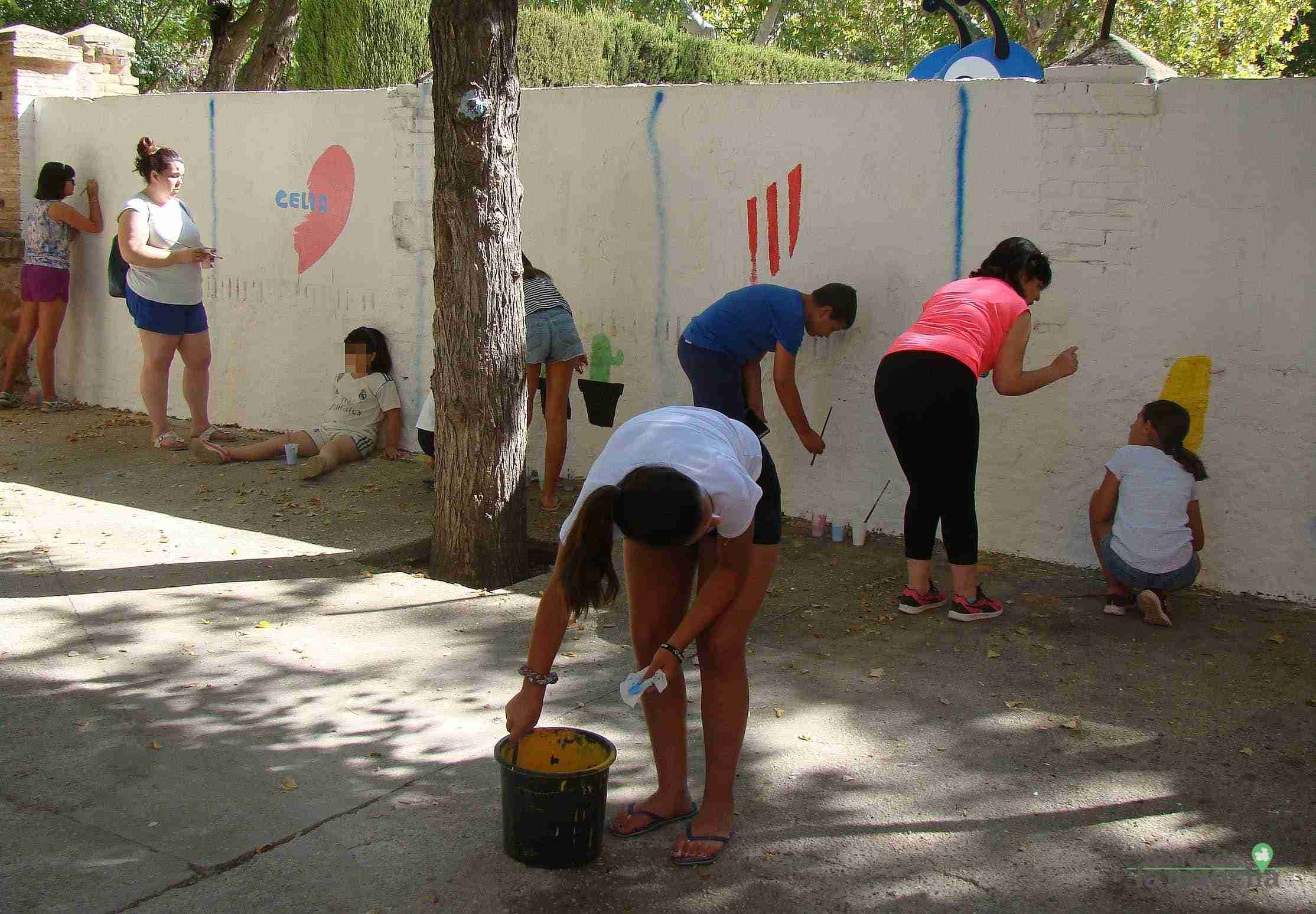 Fotografías de la segunda Pintada Infantil en Quintanar de la Orden 15